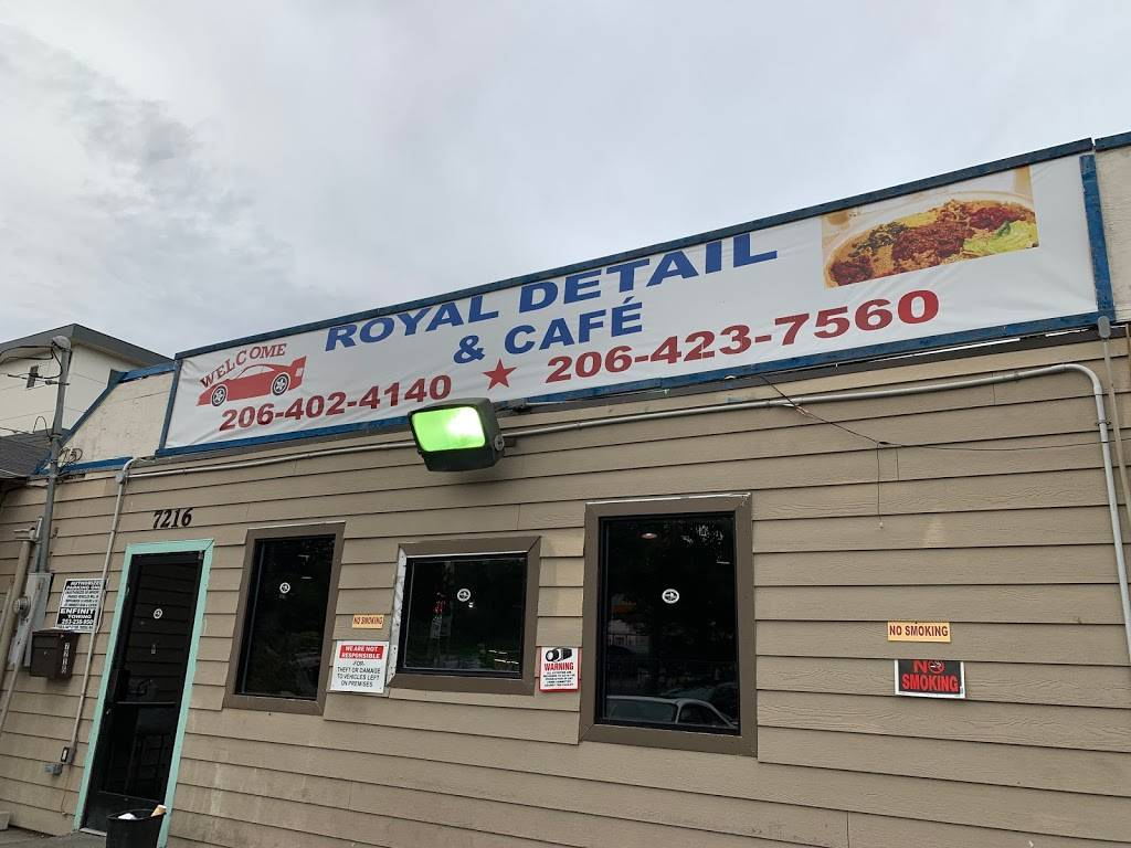 Royal detail and coffee | restaurant | 7216 Rainier Ave S, Seattle, WA 98118, USA | 2064024140 OR +1 206-402-4140