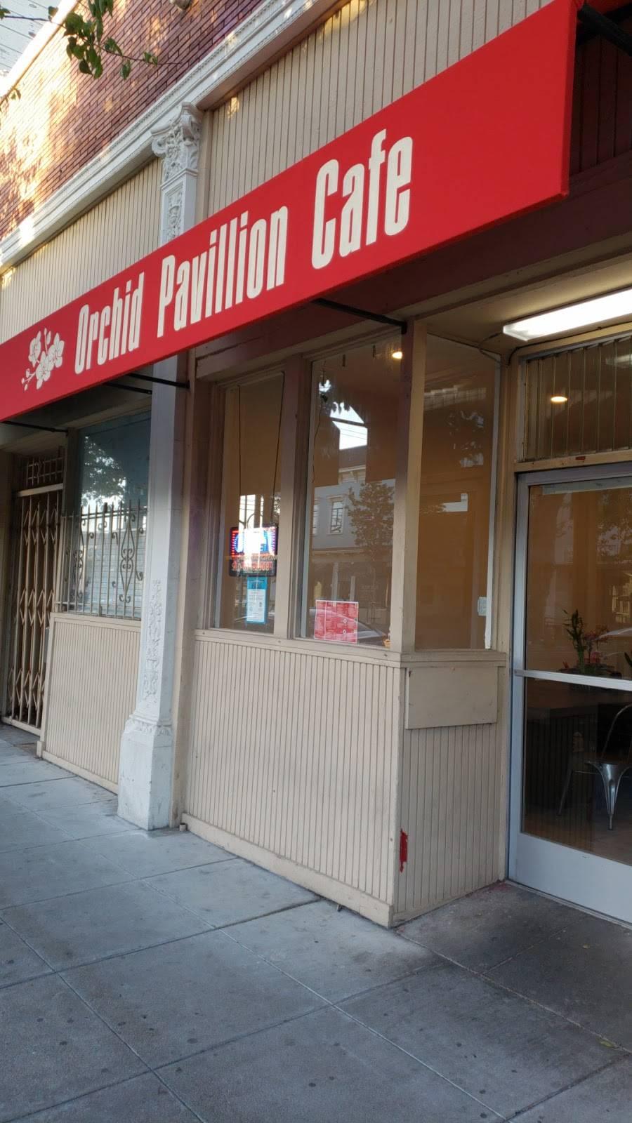 Orchid Pavillion Cafe | restaurant | 1540 Webster St, Alameda, CA 94501, USA | 5108712908 OR +1 510-871-2908