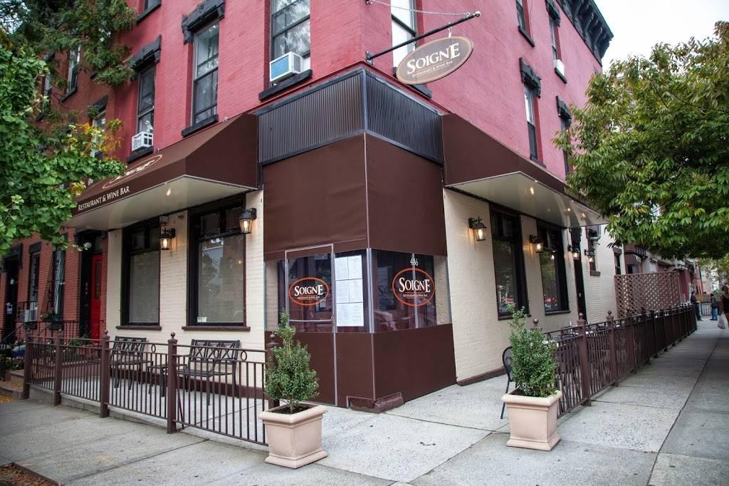 Soigne   restaurant   486 6th Ave, Brooklyn, NY 11215, USA   7183694814 OR +1 718-369-4814