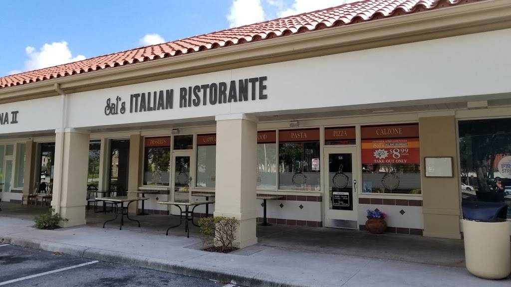 Sals Italian Ristorante | meal delivery | 7036 W Palmetto Park Rd, Boca Raton, FL 33433, USA | 5614174149 OR +1 561-417-4149