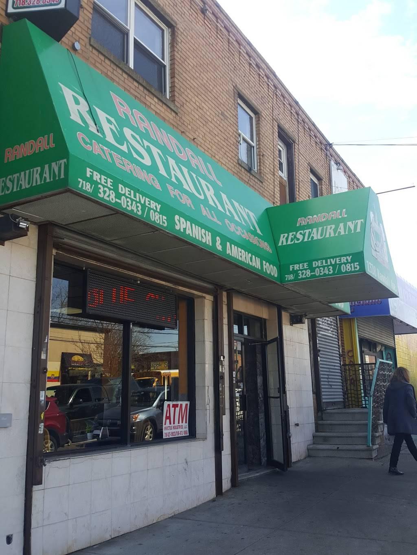 Randall | restaurant | 1328 Randall Ave, Bronx, NY 10474, USA | 7183280343 OR +1 718-328-0343