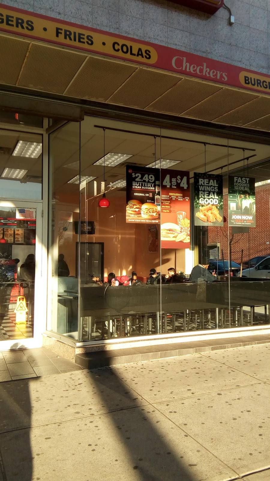 Checkers   restaurant   1611 Broadway, Brooklyn, NY 11207, USA   7184436160 OR +1 718-443-6160