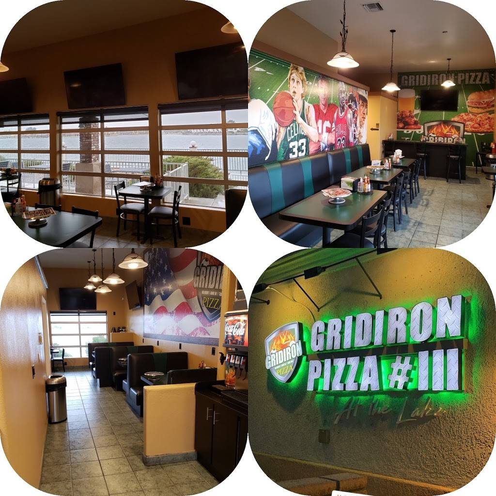 Gridiron Pizza #3 At The Lake | restaurant | 27170 Lakeview Dr #402, Helendale, CA 92342, USA | 7602430333 OR +1 760-243-0333