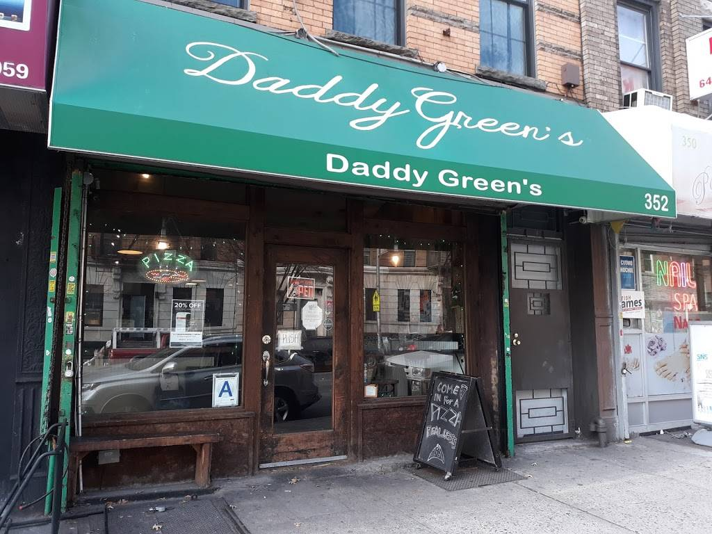 Daddy Greens Pizza | cafe | 352 Malcolm X Blvd, Brooklyn, NY 11233, USA | 7184842142 OR +1 718-484-2142