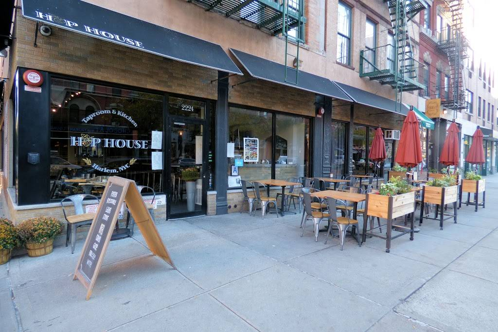 Hop House Harlem | restaurant | 2224 Frederick Douglass Blvd, New York, NY 10026, USA | 6468580252 OR +1 646-858-0252