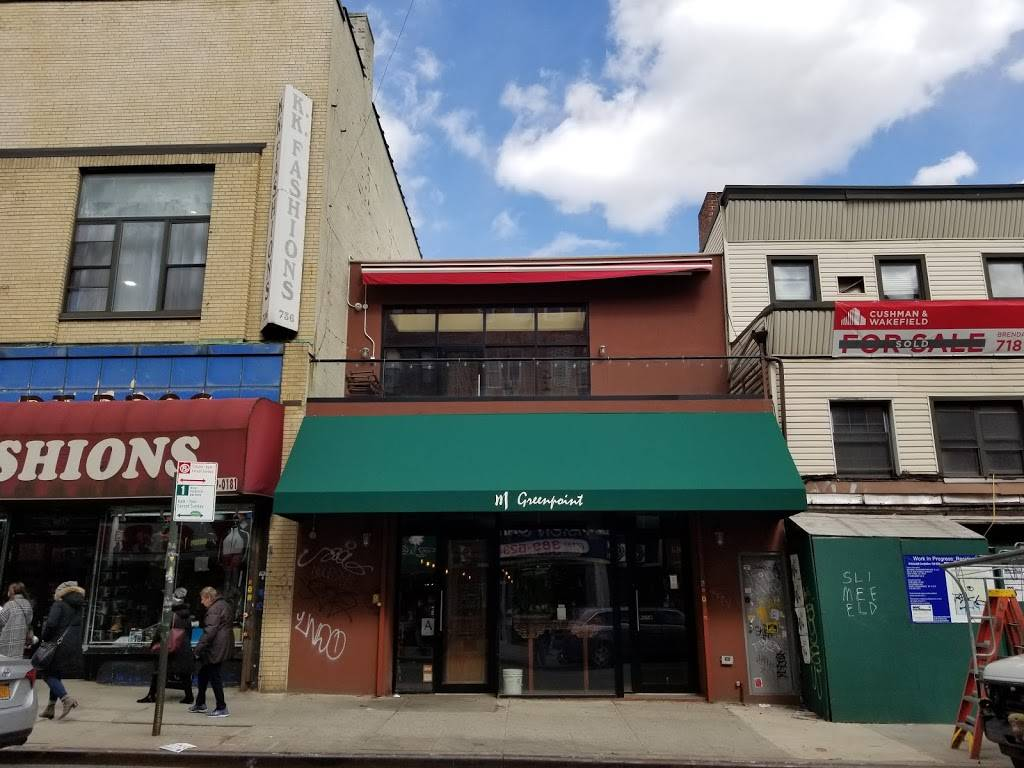 M Greenpoint | restaurant | 732 Manhattan Ave, Brooklyn, NY 11222, USA | 7183838889 OR +1 718-383-8889