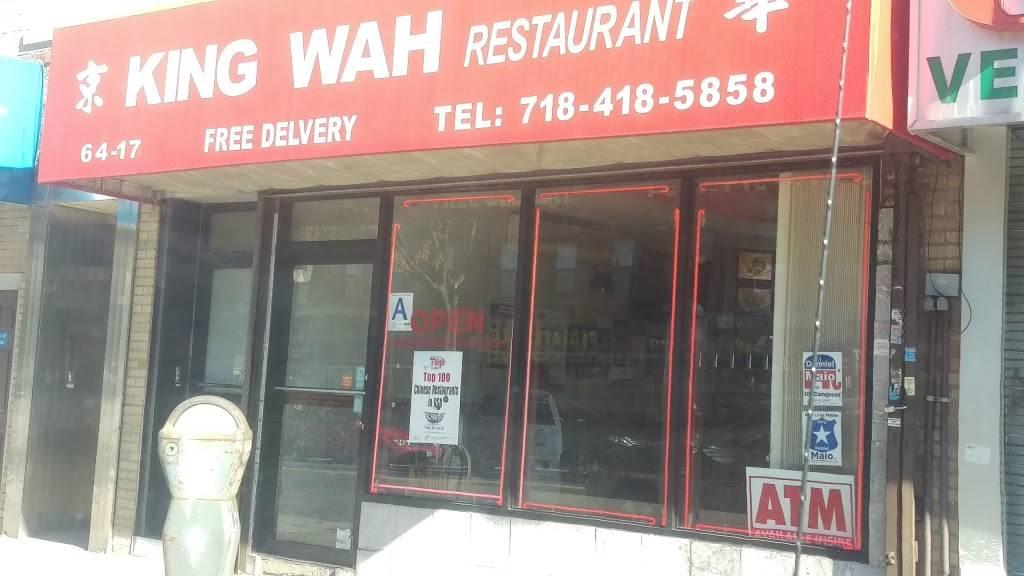 King Wah   restaurant   64-17 Fresh Pond Rd, Ridgewood, NY 11385, USA   7184185858 OR +1 718-418-5858