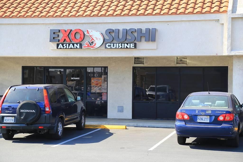 EXO Sushi   restaurant   1731 W Katella Ave suite f, Anaheim, CA 92804, USA   7148442270 OR +1 714-844-2270