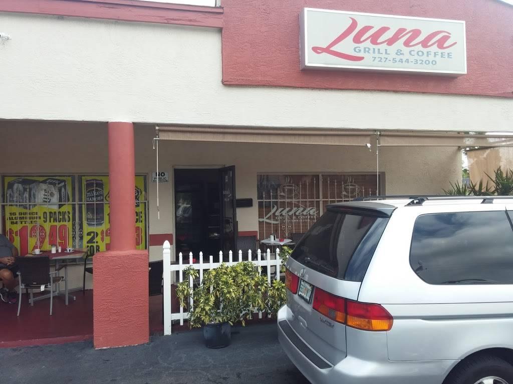 Luna Grill & Coffee   restaurant   8421 49th St N, Pinellas Park, FL 33781, USA   7275443200 OR +1 727-544-3200