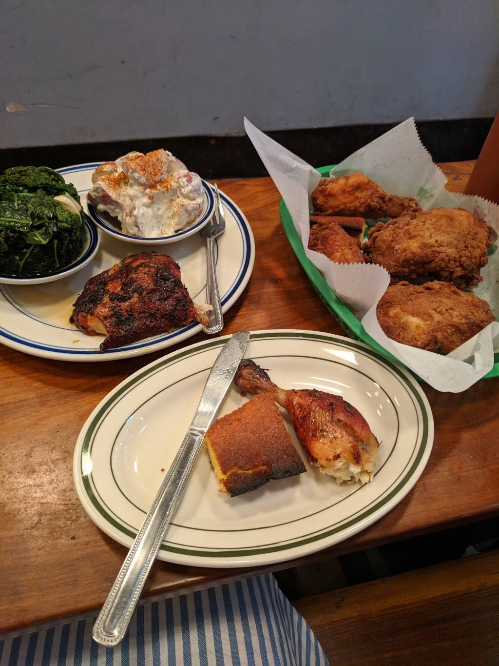 Dirty Bird To Go | restaurant | 155 Chambers St, New York, NY 10007, USA | 2129643284 OR +1 212-964-3284