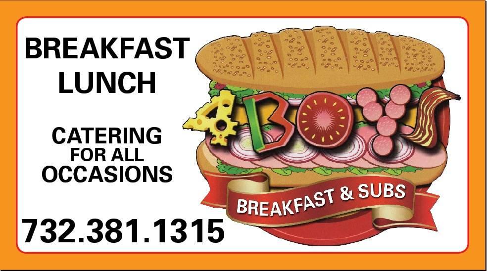 FOUR BOYS DELI 2   restaurant   149 Randolph Ave, Avenel, NJ 07001, USA   7323811315 OR +1 732-381-1315