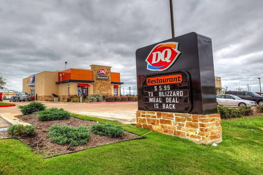 Dairy Queen | restaurant | 1281 FM148, Terrell, TX 75160, USA | 9725634358 OR +1 972-563-4358