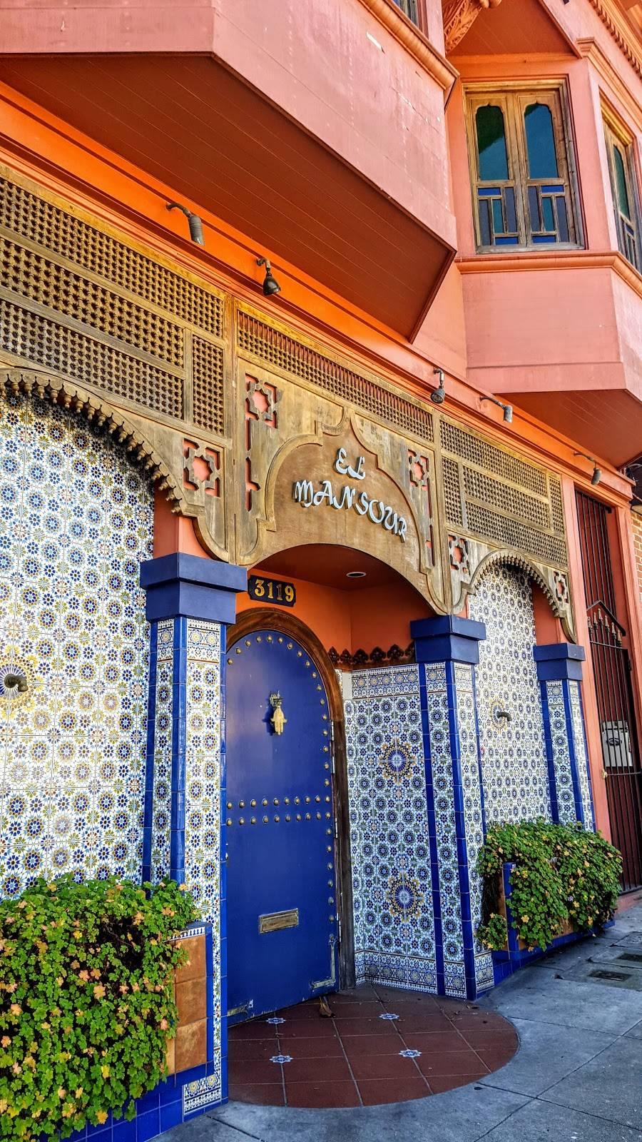 El Mansour   restaurant   3119 Clement St, San Francisco, CA 94121, USA   4157512312 OR +1 415-751-2312