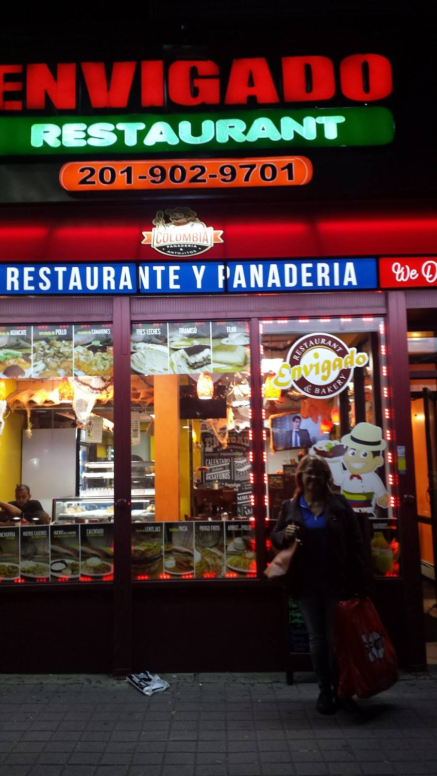Envigado Restaurant & Bakery | cafe | 5114 Bergenline Ave, West New York, NJ 07093, USA | 2019029701 OR +1 201-902-9701