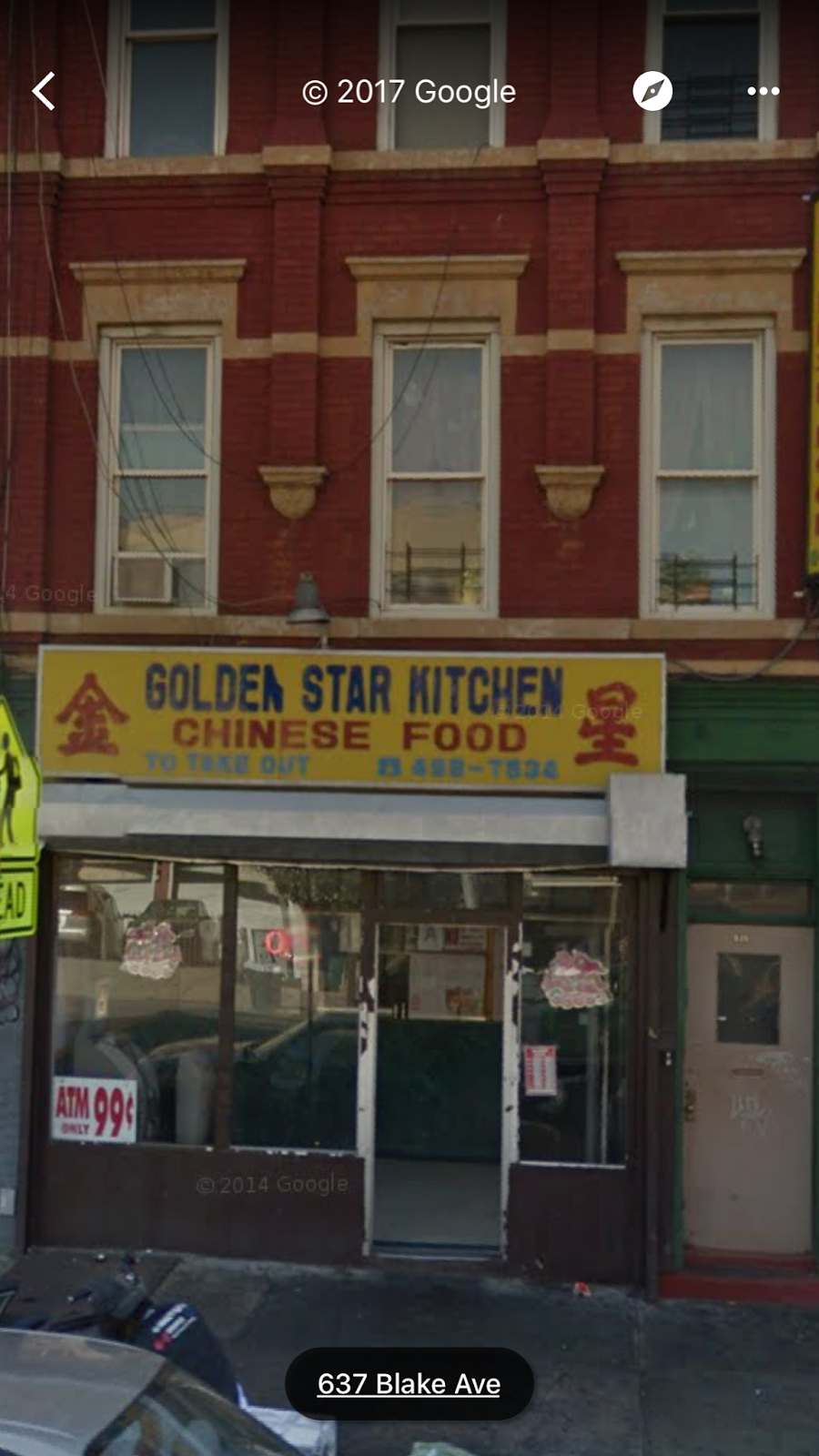 Golden Star Kitchen   restaurant   638 Blake Ave, Brooklyn, NY 11207, USA   7184987534 OR +1 718-498-7534