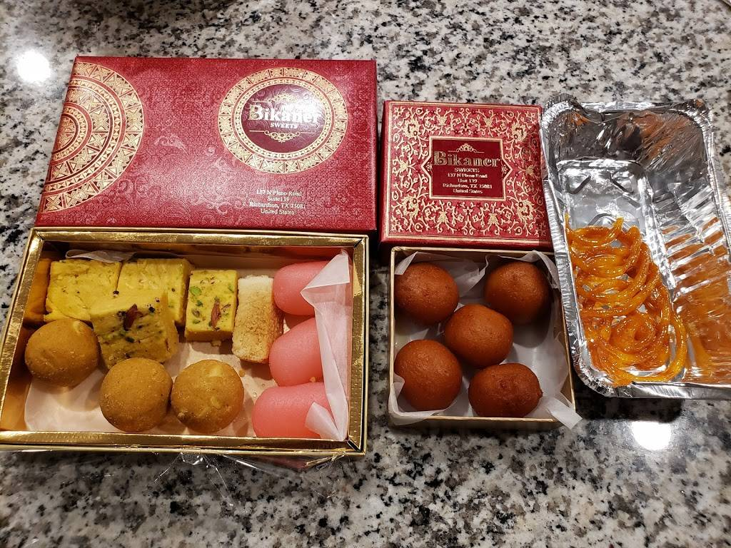 Bikaner Sweets & Vegetarian Cuisine | restaurant | 139 N Plano Rd, Richardson, TX 75081, USA | 4699179247 OR +1 469-917-9247