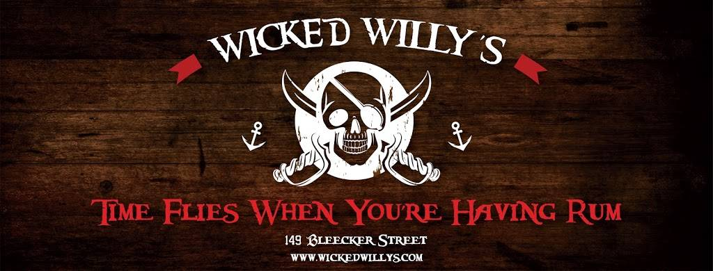 Wicked Willys | restaurant | 149 Bleecker St, New York, NY 10012, USA | 2122548592 OR +1 212-254-8592