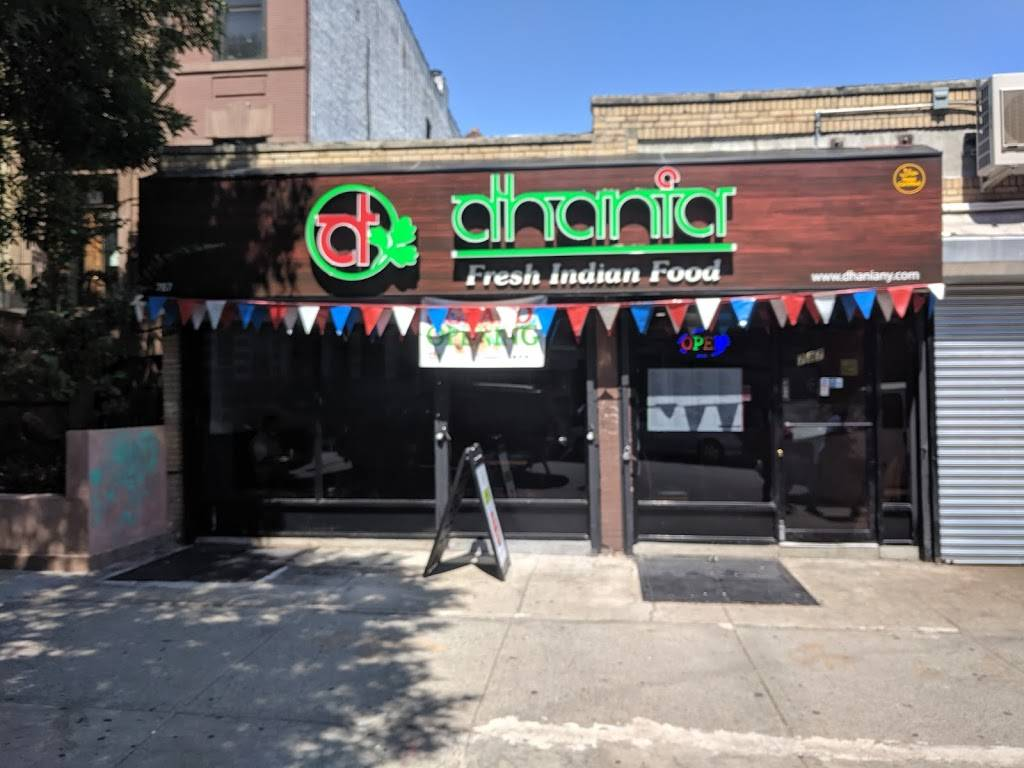 Dhania Indian Food | restaurant | 787 Prospect Pl, Brooklyn, NY 11216, USA | 3476273095 OR +1 347-627-3095