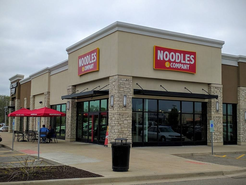 Noodles and Company | restaurant | 358 West Washington Street, East Peoria, IL 61611, USA | 3096988640 OR +1 309-698-8640