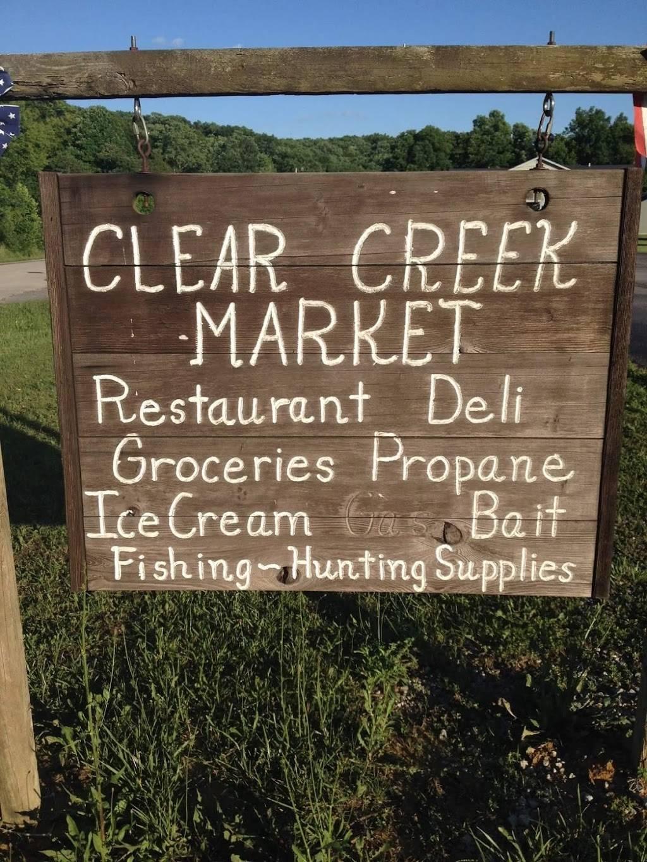 Clear Creek Market & Stables   restaurant   865 Clear Creek Rd, Salt Lick, KY 40371, USA   6066830931 OR +1 606-683-0931