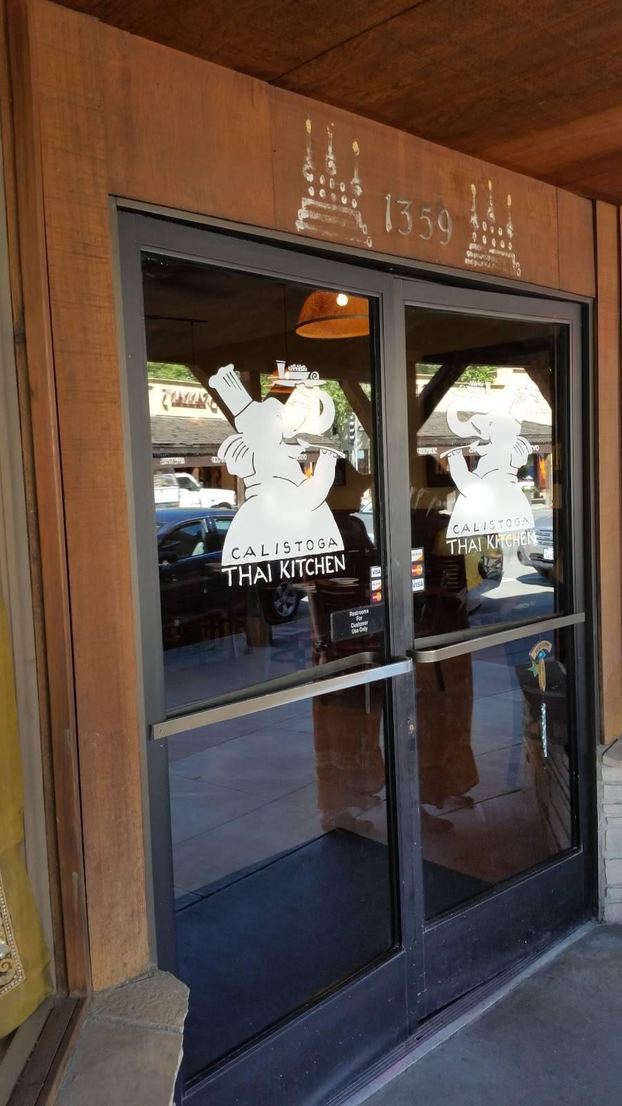 Calistoga Thai Kitchen Restaurant 1359 Lincoln Ave Calistoga Ca 94515 Usa