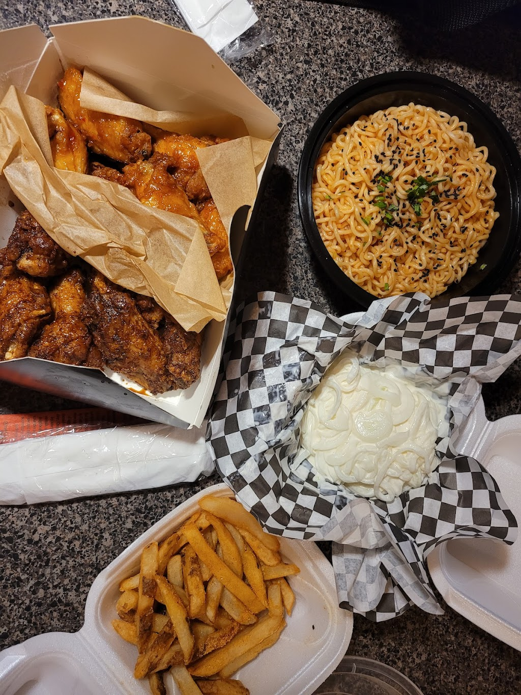 MUKBANG CHICKEN | meal takeaway | 4638 N Cumberland Ave, Chicago, IL 60656, USA | 7738875827 OR +1 773-887-5827