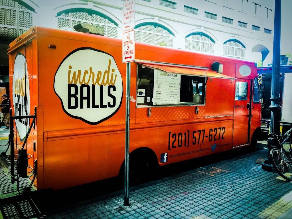 Incrediballs Food truck | meal takeaway | 26 Grand St, Jersey City, NJ 07302, USA