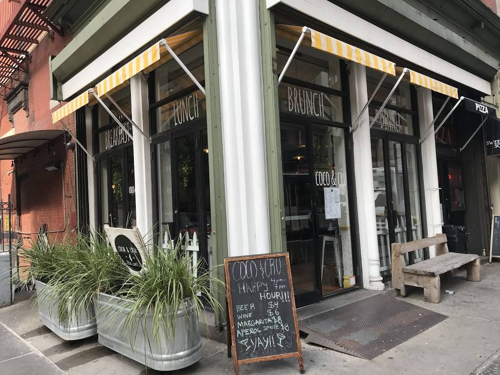 Coco & Cru | restaurant | 643 Broadway, New York, NY 10012, USA | 2126143170 OR +1 212-614-3170