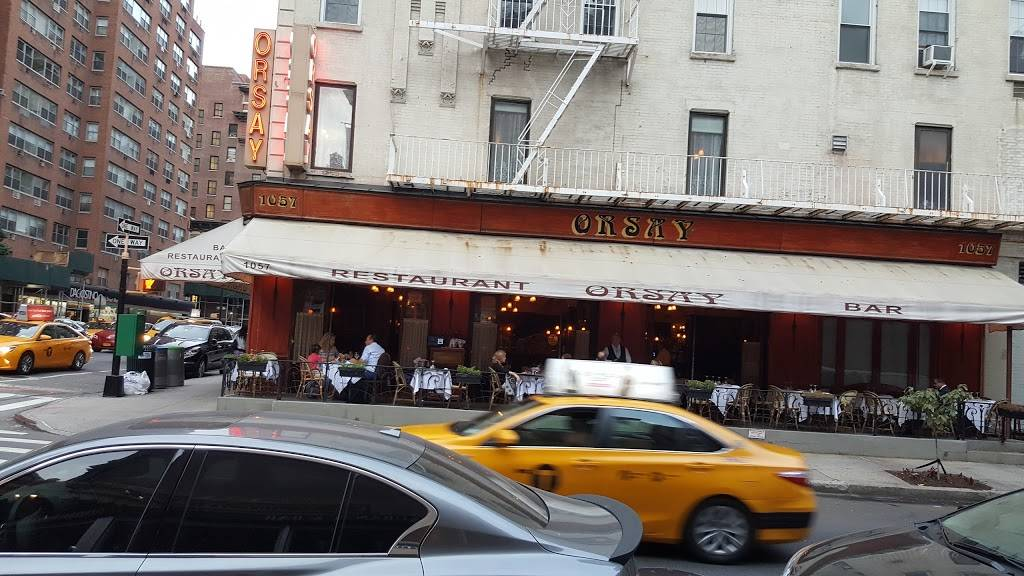 Orsay | restaurant | 1057 Lexington Ave, New York, NY 10021, USA | 2125176400 OR +1 212-517-6400