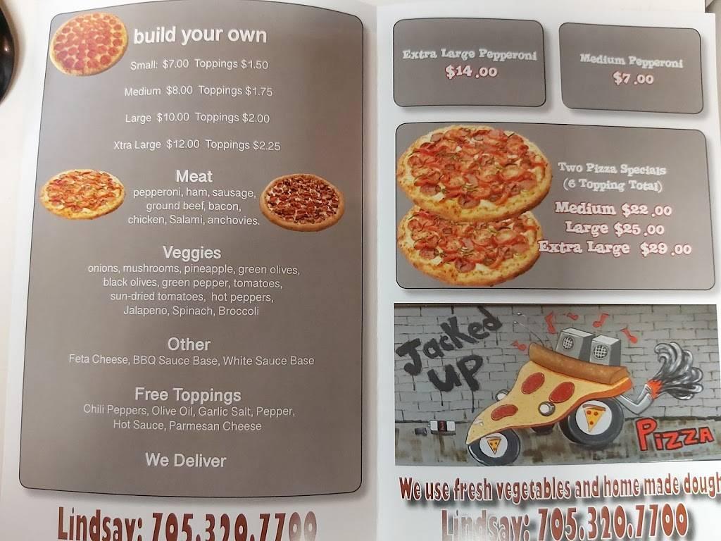 Jacked Up Pizza | meal takeaway | 153 Angeline St N, Lindsay, ON K9V 4X3, Canada | 7053207700 OR +1 705-320-7700