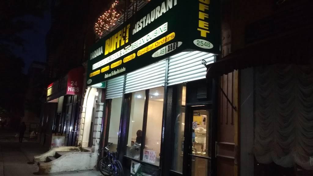Baraka Buffet Restaurant | restaurant | 2546 Frederick Douglass Blvd, New York, NY 10030, USA