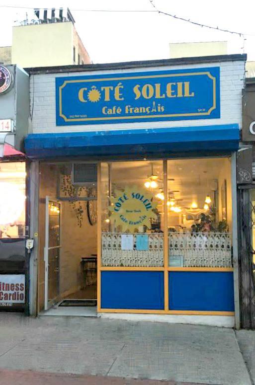 Côté Soleil: Lunch & Brunch French Restaurant In Manhattan, NYC | restaurant | 50-12 Skillman Ave, Woodside, NY 11377, USA | 3476124333 OR +1 347-612-4333