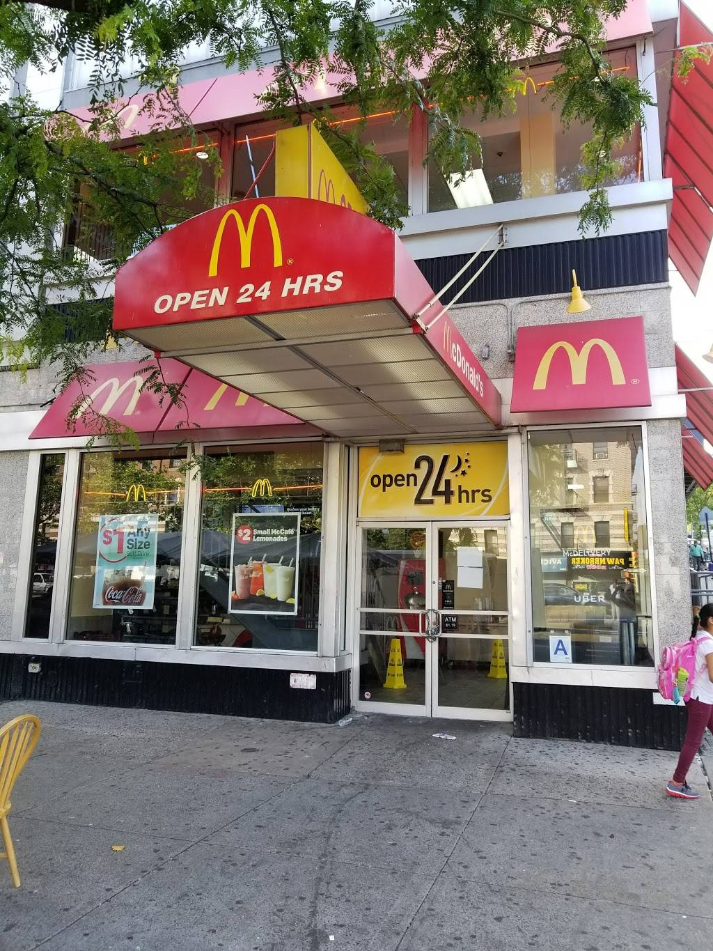 McDonalds | cafe | 3410 Broadway, W 138th St, New York, NY 10031, USA | 6469280134 OR +1 646-928-0134
