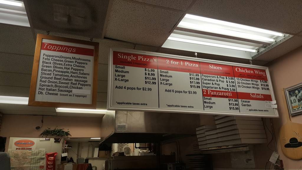 Cambridge Pizza | restaurant | 350 Hespeler Rd, Cambridge, ON N1R 7N7, Canada | 5196222228 OR +1 519-622-2228
