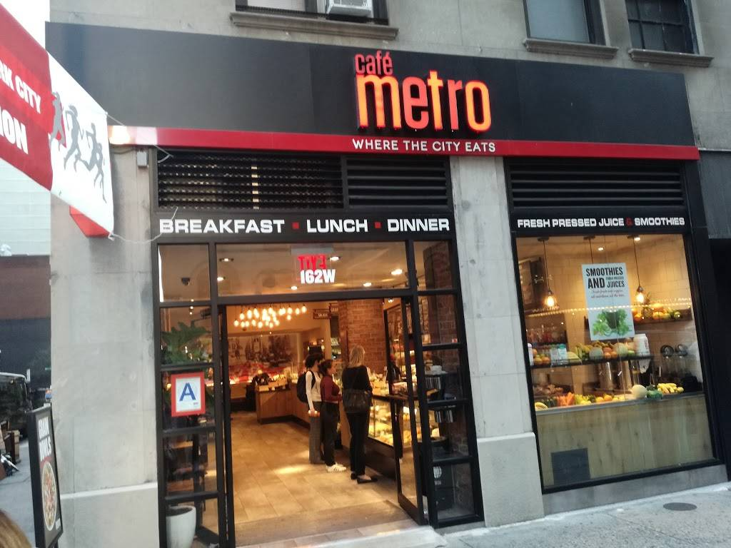Cafe Metro | restaurant | 162 W 56th St, New York, NY 10019, USA | 2125862626 OR +1 212-586-2626