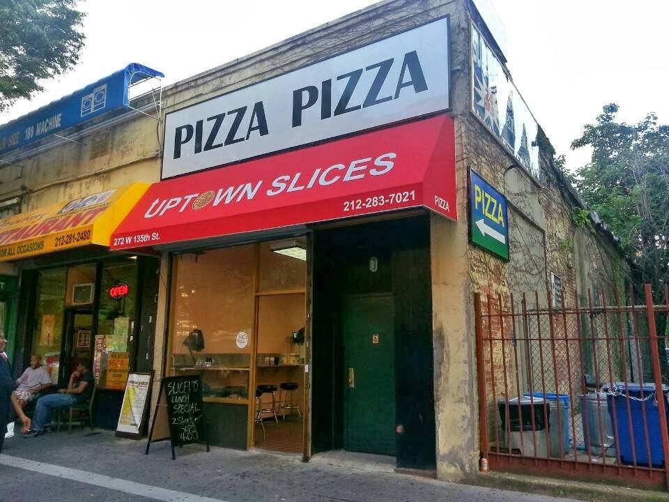 Uptown Slices | restaurant | 272 W 135th St, New York, NY 10030, USA | 2122837021 OR +1 212-283-7021