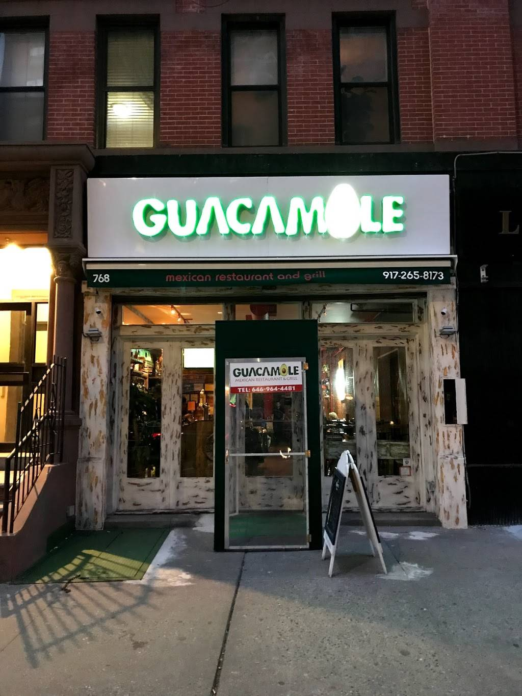 Guacamole NYC | restaurant | 768 Amsterdam Ave, New York, NY 10025, USA | 9172658173 OR +1 917-265-8173