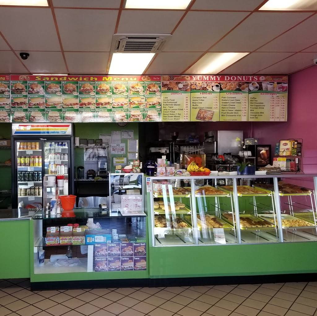 Yummy donuts | cafe | 1838 Puente Ave, Baldwin Park, CA 91706, USA | 6263389181 OR +1 626-338-9181