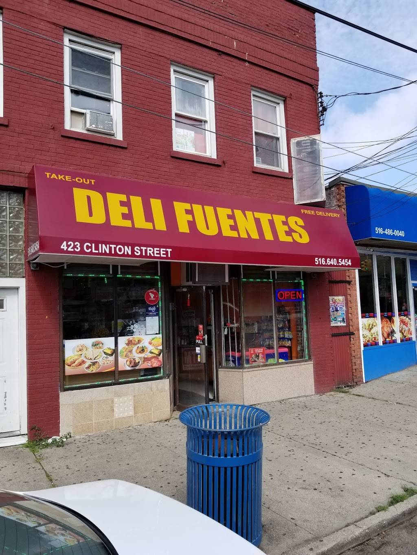 Deli Fuentes   restaurant   423 Clinton St, Hempstead, NY 11550, USA   5166405454 OR +1 516-640-5454