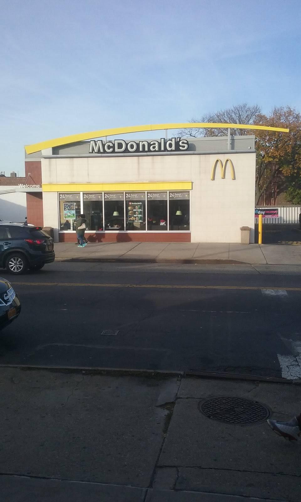 McDonalds | cafe | 5707-13 Church Ave, Brooklyn, NY 11203, USA | 7189226085 OR +1 718-922-6085