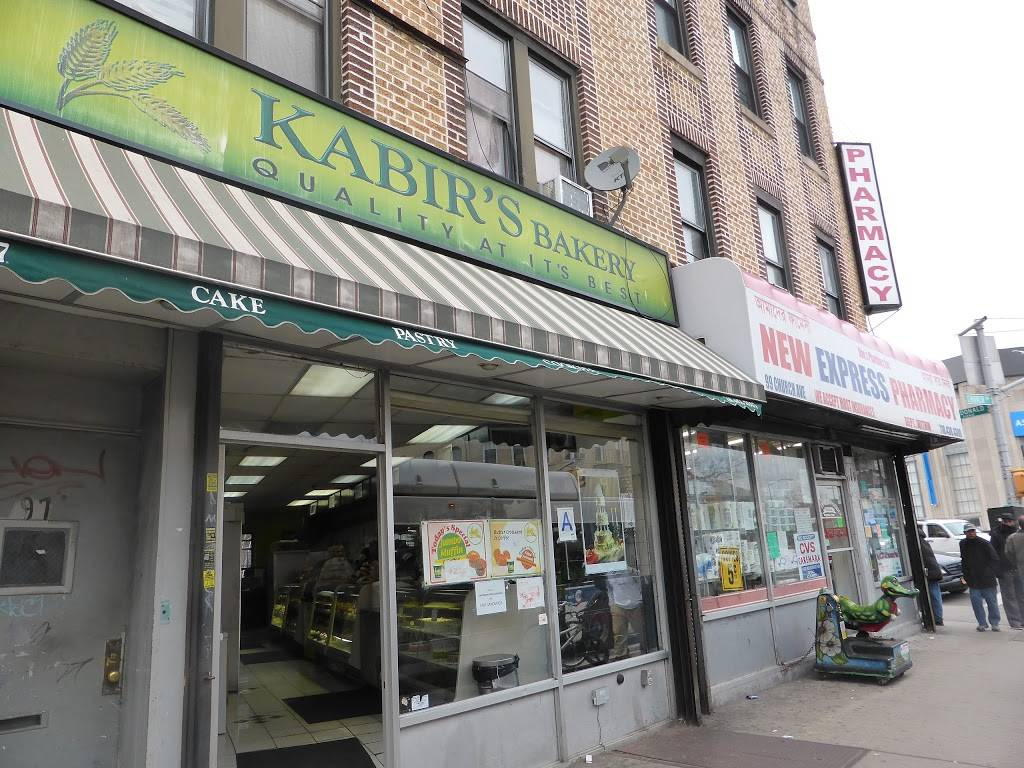 Kabirs Bakery | bakery | 97 Church Ave, Brooklyn, NY 11218, USA | 7188537907 OR +1 718-853-7907