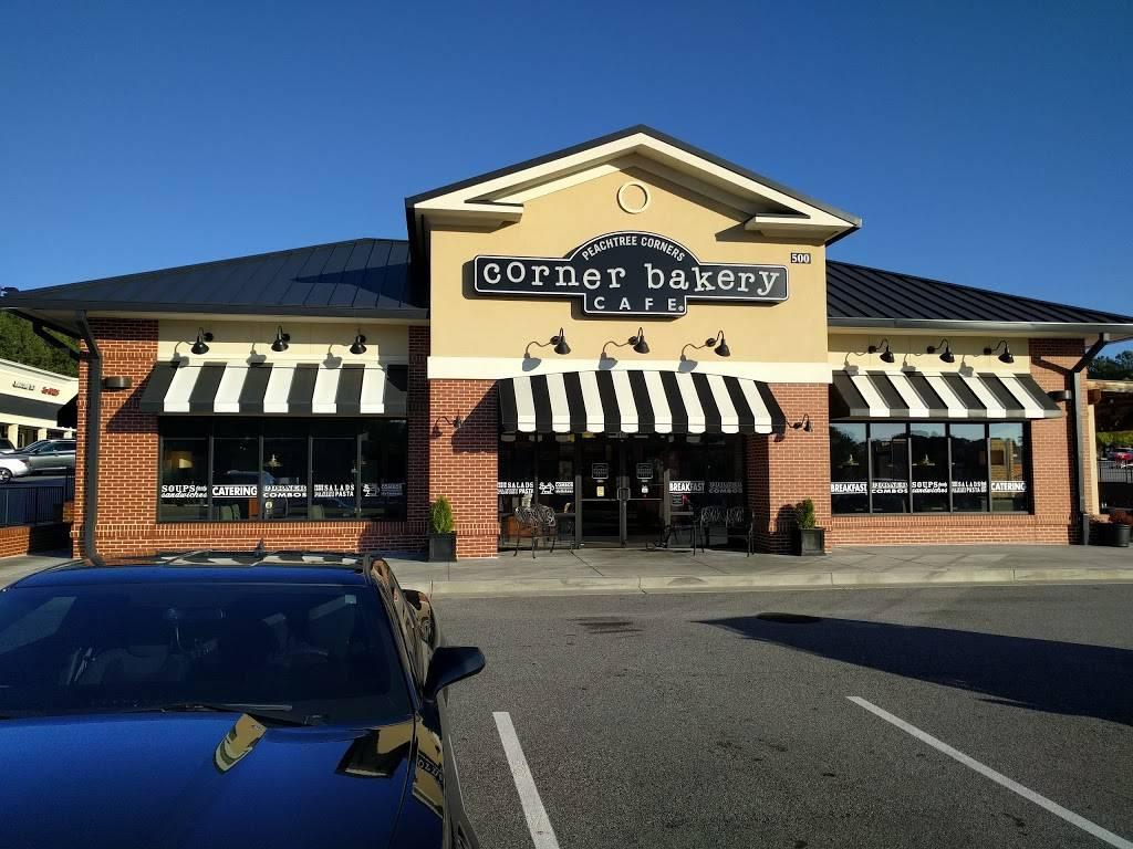 Corner Bakery Cafe | bakery | 6050 Peachtree Pkwy #500, Peachtree Corners, GA 30092, USA | 6782812150 OR +1 678-281-2150