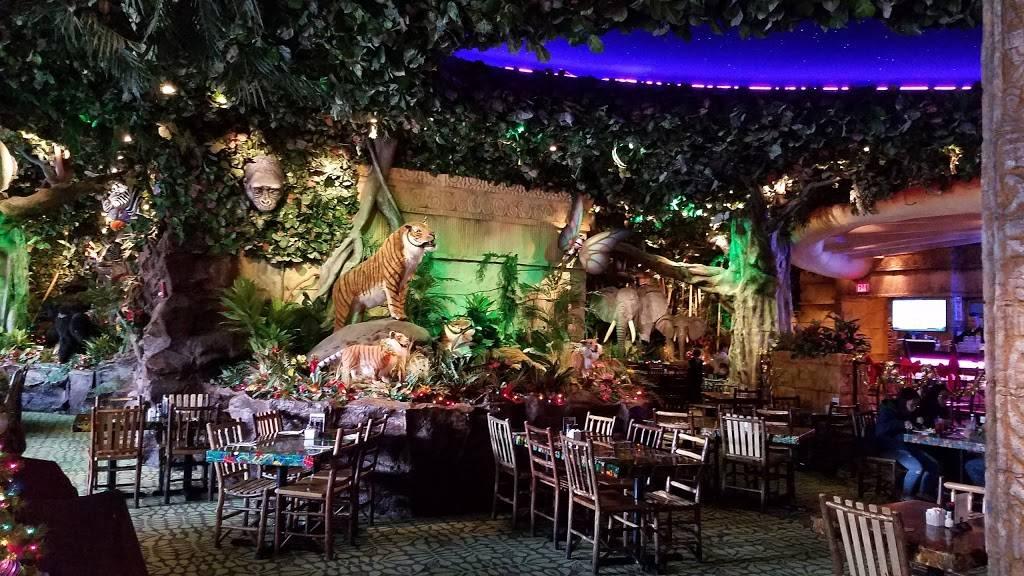 Rainforest Cafe Niagara Falls USA | restaurant | 300 3rd St, Niagara Falls, NY 14303, USA | 7162782626 OR +1 716-278-2626