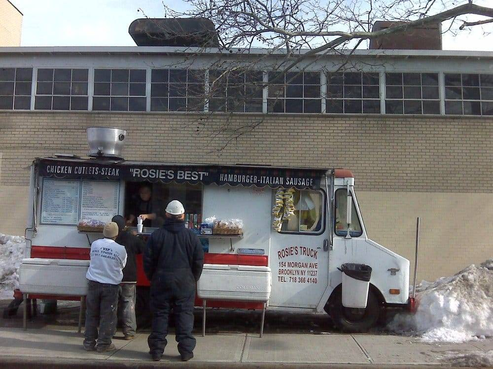 Rosies Food Truck | meal takeaway | 154 Morgan Ave, Brooklyn, NY 11237, USA | 7183664140 OR +1 718-366-4140
