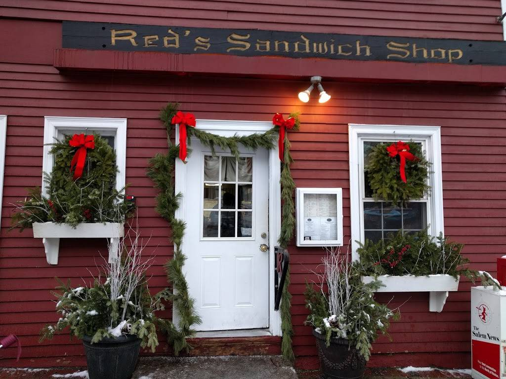 Reds Sandwich Shop | restaurant | 15 Central St, Salem, MA 01970, USA | 9787453527 OR +1 978-745-3527