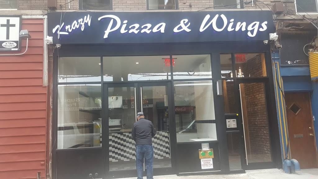 Krazy Chicken & Pizza | meal delivery | 1805, 299 Malcolm X Blvd, Brooklyn, NY 11233, USA | 7184847761 OR +1 718-484-7761