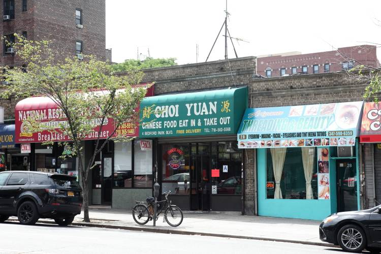 Choi Yuan   restaurant   4 Bedford Park Blvd W, Bronx, NY 10468, USA   7185625568 OR +1 718-562-5568