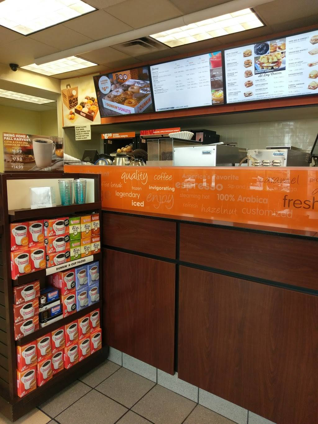 Dunkin Donuts | cafe | 470 Broad Ave, Ridgefield, NJ 07657, USA | 2019454828 OR +1 201-945-4828