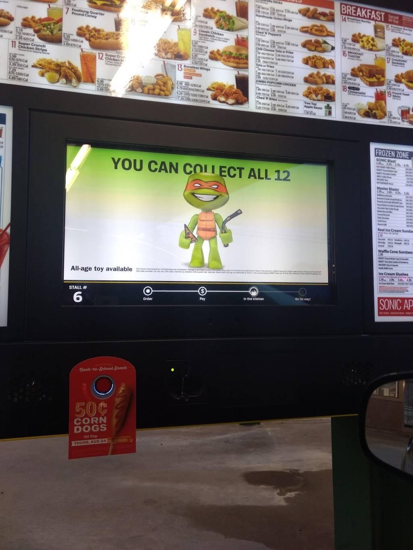 Sonic Drive-In | restaurant | 1305 E Walnut St, Paris, AR 72855, USA | 4799633500 OR +1 479-963-3500