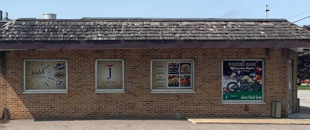 Jokers Pub and Grub | restaurant | 24517 Sprague Rd, Columbia Station, OH 44028, USA | 4402352525 OR +1 440-235-2525